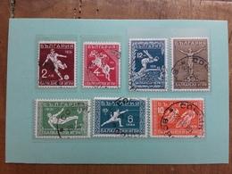 BULGARIA 1931 - Giochi Balcanici Nn. 224/30 Timbrati - Serie Completa + Spedizione Prioritaria - 1909-45 Regno