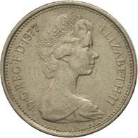 Monnaie, Grande-Bretagne, Elizabeth II, 5 New Pence, 1977, TTB, Copper-nickel - 1971-… : Monnaies Décimales