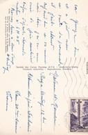 Timbre S/ Carte Postale . ANDORRE.  20F Violet  Croix Gothique S/ CPSM 10X15 La Massana Pont St Antoine - Lettres & Documents