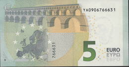 € 5 GREECE  Y001 I2  DRAGHI  UNC - 5 Euro