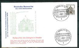 Berlin 1965: Mi.-Nr. 242:  FDC Deutsche Bauwerke       (F004) - FDC: Sobres