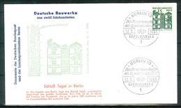 Berlin 1965: Mi.-Nr. 243:  FDC Deutsche Bauwerke       (F004) - FDC: Sobres