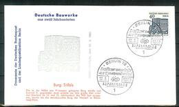 Berlin 1965: Mi.-Nr. 245:  FDC Deutsche Bauwerke       (F004) - FDC: Sobres