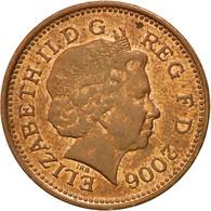 Monnaie, Grande-Bretagne, Elizabeth II, Penny, 2006, TTB, Copper Plated Steel - 1971-… : Monnaies Décimales
