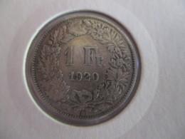 Suisse: 1 Franc 1920 - Svizzera