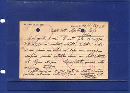 ##(ANT2)-NARCAO (CARBONIA-Iglesias) 1927-Cartolina Commerciale Intestata Arturo Lilliu-VINO-viaggiata - Italy