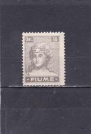 Fiume Neuf * 1919 N° 33    Figure Allégorique - Fiume