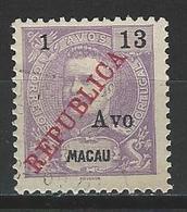 Macao Mi 196 Used - Macau