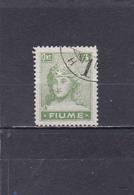 Fiume Oblitéré 1919  N° 34   Figure Allégorique - Fiume