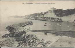 CPA  13 - Marseille - L'Anse Du Prophète Et L'Hotel Roubion - Vieux Port, Saint Victor, Le Panier