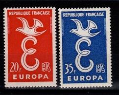 Europa YV 1173 & 1174 N** Cote 2 Euros - Unused Stamps