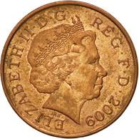 Monnaie, Grande-Bretagne, Elizabeth II, Penny, 2009, TTB, Copper Plated Steel - 1971-… : Monnaies Décimales
