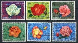 Khor Fakkan * N° 91 à 96 Surchargés - Roses - - Khor Fakkan
