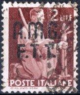 TRIESTE, ZONA A, ITALIA, ITALY, SERIE DEMOCRATICA, 1947, FRANCOBOLLI USATI Michel 4   Scott 4 - 7. Triest