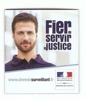 Magnets D'administrations: Fier De Servir La Justice, Surveillant De Prison - Magnets
