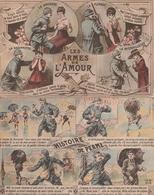 France 2 Cartes Postales Militaires Différentes - Humoristiques
