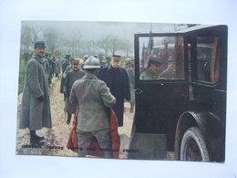 WW1 - General Joffre Visits The Verdun Front - Official Photograph Of La Section Photographique De L`Armee Francaise - Guerre 1914-18