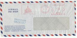 1975 Internat. BUREAU OF FISCAL DOCUMENTATION COVER Illus METER SLOGAN Netherlands Stamps - Period 1949-1980 (Juliana)