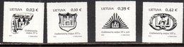 LITHUANIA, 2018, MNH, STATE SYMBOLS,4v - Stamps