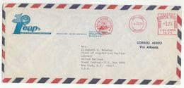1976 ICAP CHILE To UN NY USA COVER Illus METER SLOGAN Instituto Centroamericano Administracion Publica To United Nations - Chile