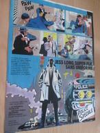 CLI518 :  Page PUB A4 Spirou Années 60/70 Sortie D'un Nouvel Album JESS LONG Par PIROTON - Jess Long
