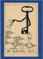 CPA échecs Playing Chess Non Circulé Clef - Chess