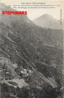 CPA 05 : N°423 - LIGNE CHORGES A BARCELONNETTE St MARTIN LA BLACHE- Les Alpes Pittoresques - édition Louis Bonnet - France