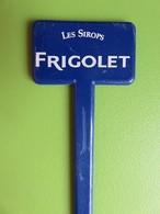 157 - Touilleur - Agitateur - Mélangeur à Boisson - Les Sirops Frigolet - Swizzle Sticks