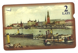 Lettonia - Tessera Telefonica Da 2 Ls T536 - Lattelekom- - Paysages