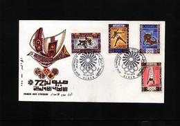 Algeria 1972 Olympic Games Munich FDC - Summer 1972: Munich