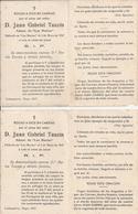MURTAS (Andalucia, Espana) - Faire-part De Décès - D. Juan Gabriel TAUZIN - Décédé Le 2 De Mayo De 1947 - Format CDV - Esquela