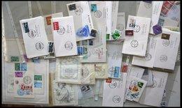 SAMMLUNGEN, LOTS Brief,o , 1961-90, Partie Diverser Ausgaben, Fast Nur Auf FDC`s Und Einzelmarken, Pracht, Mi. 230.- - Belgien