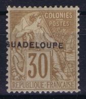 Guadeloupe: Yv 22  MH/* Flz/ Charniere - Guadeloupe (1884-1947)