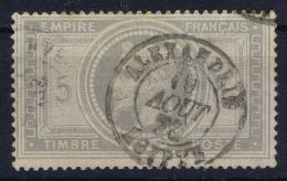 Colonies Francaises: CDS Alexandrie D7  Yv  33 - Napoleon III