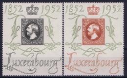 Luxembourg : Mi Nr 488 - 489   Postfrisch/neuf Sans Charniere /MNH/** 1952 - Unused Stamps