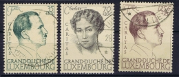 Luxembourg : Mi Nr 339 - 341   Perfo 13  Obl./Gestempelt/used  1939 - Luxembourg