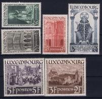 Luxembourg : Mi Nr 309 - 314 Postfrisch/neuf Sans Charniere /MNH/**  1938 - Luxembourg