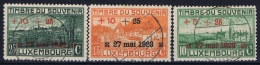 Luxembourg : Mi Nr 144 - 146 1923 Obl./Gestempelt/used - Luxembourg