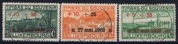 Luxembourg : Mi Nr 144 - 146 1923 Obl./Gestempelt/used - Oblitérés