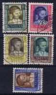 Luxembourg : Mi Nr 227 - 231 1930 Obl./Gestempelt/used - Oblitérés