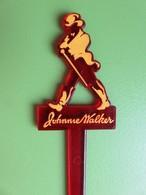 163 - Touilleur - Agitateur - Mélangeur à Boisson - Johnnie Walker - Scotch Whisky - Swizzle Sticks