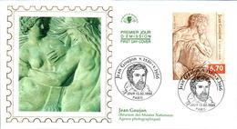 LETTRE GRAND FORMAT (1ER JOUR) - FDC - JEAN GOUJON - 13 FEVRIER 1999 A PARIS - CÔTE : 5,50 EUROS - FDC