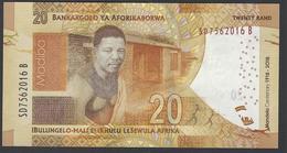 South Africa - 20 Rand - Mandela Centenary 1918-2018 - SD 7562016 B -  - MSPL/SPL - Afrique Du Sud