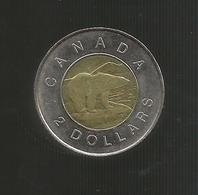 CANADA 2 DOLLARS 1996 BIMETALLIC - Canada