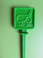 170 - Touilleur - Agitateur - Mélangeur à Boisson - Sports - Golf - Carré Vert - Swizzle Sticks