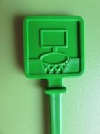 171 - Touilleur - Agitateur - Mélangeur à Boisson - Sports - Basket Ball - Carré Vert - Swizzle Sticks