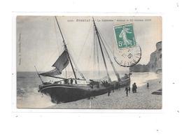 10845 - ETRETAT : Le Zuiderzée, échoué Le 19/10/1909 - Etretat