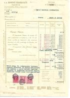 FAT200 - FATTURA 1942 - S.A. SEMENTI SGARAVATTI - PADOVA - MARCHE DA BOLLO - Italy