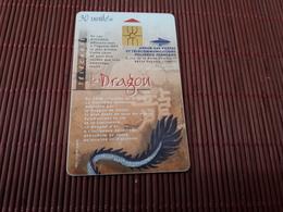 Phonecard Polynesie Le Dragon  Rare - French Polynesia