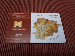 Phonecard Andorra Animal Used Only 10.000 Made Rare - Andorra